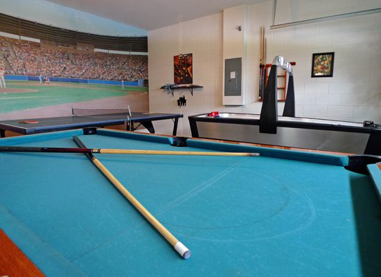 Games Room - Pine Forest Chateau - 5 bedroom Walt Disney World Area vacation home - Homes4uu