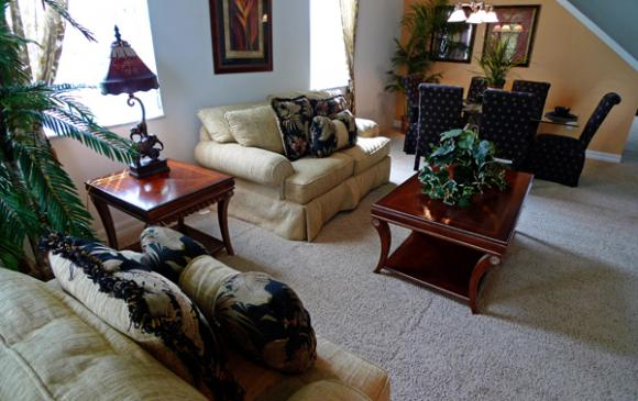 Second Open Plan Living Room Area - Pine Forest Chateau - 5 bedroom Walt Disney World Area vacation home - Homes4uu