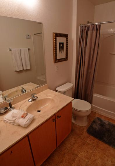 Bathroom 2 - Pine Forest Chateau - 5 bedroom Walt Disney World Area vacation home - Homes4uu