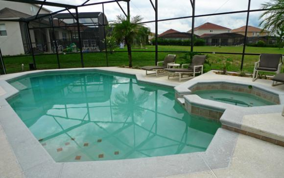 Private Screened In Pool - Pine Forest Chateau - 5 bedroom Walt Disney World Area vacation home - Homes4uu