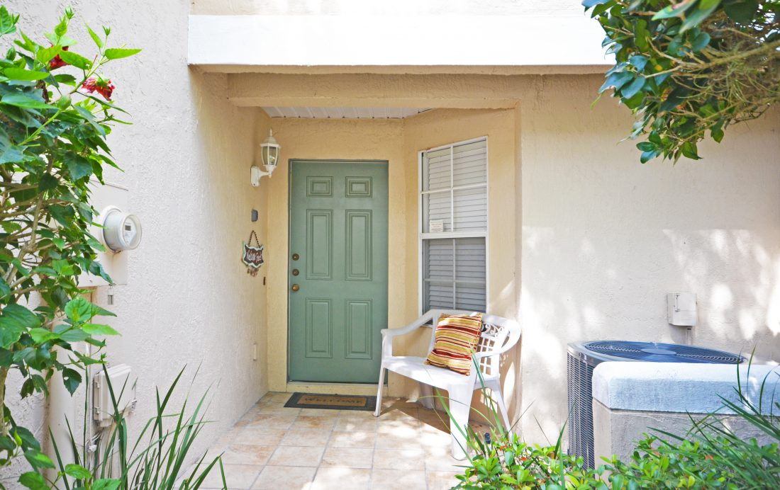 Front Door - Fairways Townhome - 3 Bedroom Southern Dunes Vacation Townhome - Homes4uu