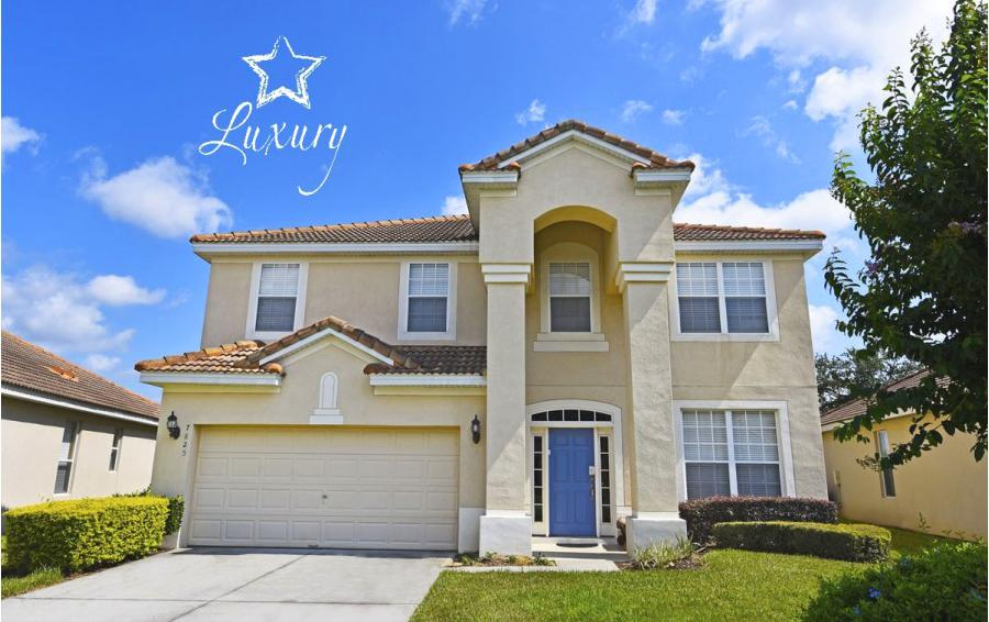 Home Exterior - Anchor Buoy - 6 bedroom Kissimmee vacation home - Homes4uu