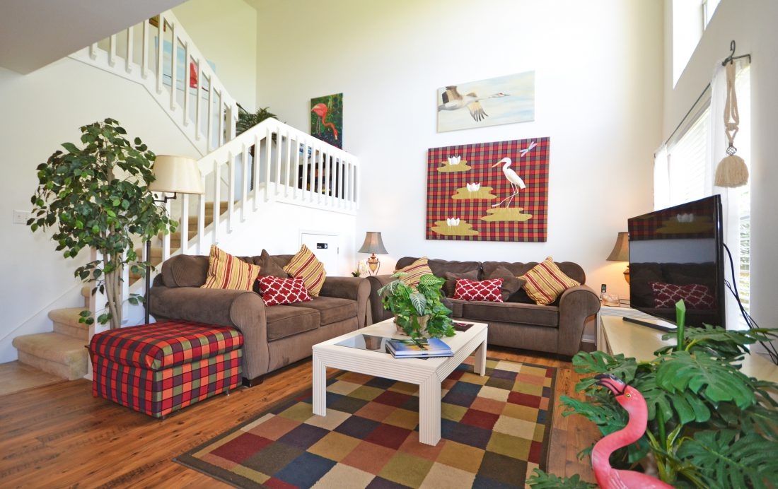 Living Room - Fairways Townhome - 3 Bedroom Southern Dunes Vacation Townhome - Homes4uu