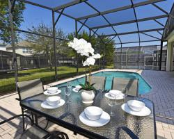 Second Deck Dining Area - Aid to Navigation - 4 bedroom Kissimmee vacation villa - Homes4uu