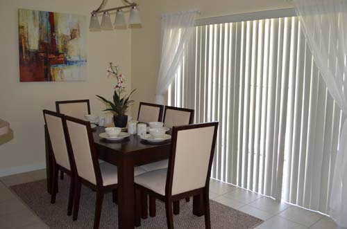 Dining Room - Encantada Resort townhome - 4 bedrooms - Homes4uu