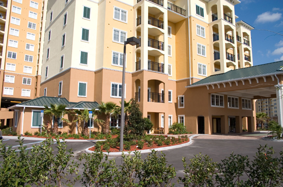 Lake Buena Vista Resort Condos Tower Entry