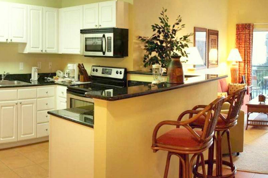 Fully Equipped Kitchen - 1 Bedroom Condo - Madeira Bay Resort and Spa - Homes4uu
