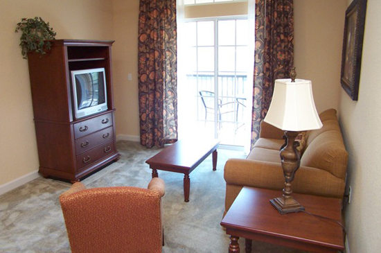 Living Room - Tuscana Resort Condo - Orlando Area Resorts - Homes4uu