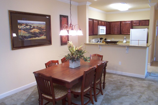 Dining Room - Tuscana Resort 2 Bedroom Condo - Orlando Area Resorts - Homes4uu