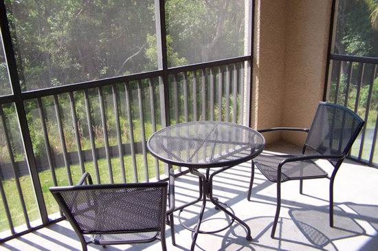 Balcony - Tuscana Resort Condo - Orlando Area Resorts - Homes4uu