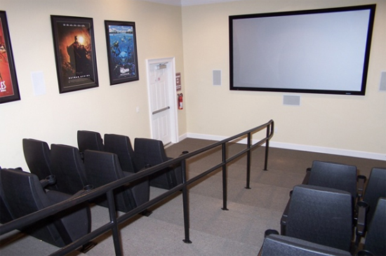 30 Seat Theater Room - Tuscana Resort - Orlando Resorts - Homes4uu