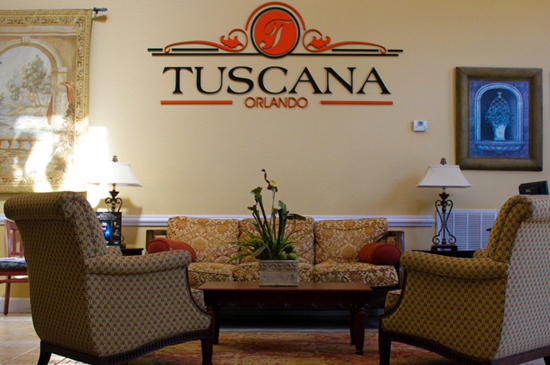 Clubhouse Lobby - Tuscana Resort - Orlando Resorts - Homes4uu