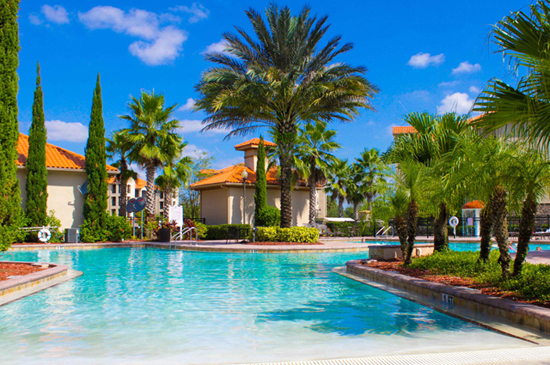 Beautiful Pool - Tuscana Resort - Orlando Resorts - Homes4uu