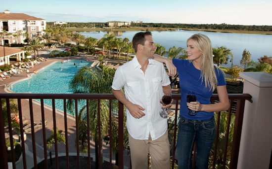 Vista Cay Resort Balcony with Guests