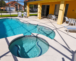 Clench - 6 Bedroom Disney Area Vacation Home - Homes4uu - Pool View