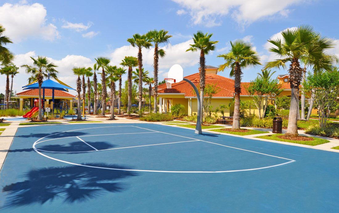 Orlando Resort Homes - Terra Verde Basketball Court