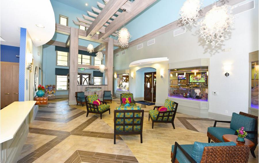 Champions Gate Clubhouse Lobby