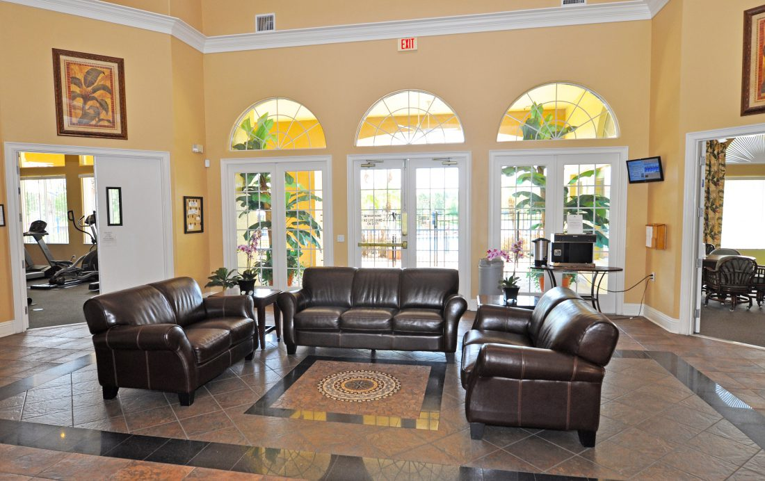 Orlando Resort Homes - Terra Verde Clubhouse Lobby