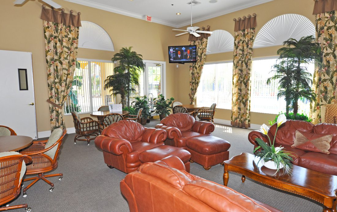 Orlando Resort Homes - Terra Verde Clubhouse Lounge