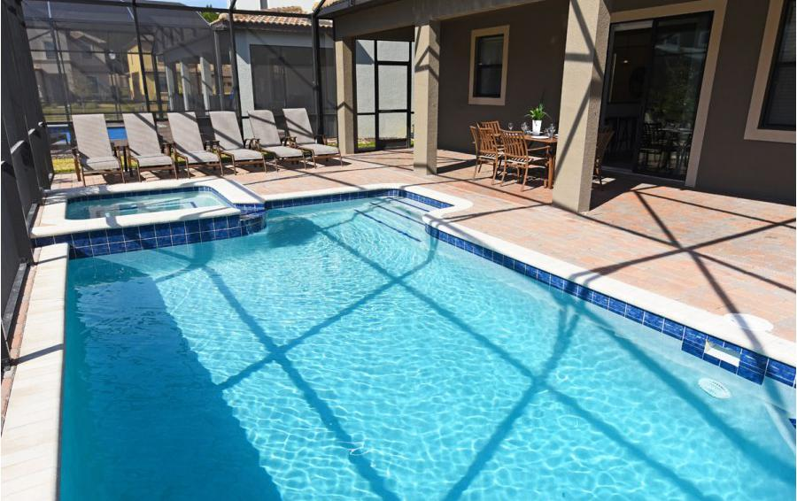 Private Pool and in Ground Spa - Crosstrees II - 6 Bedroom Disney area vacation villa - Homes4uu