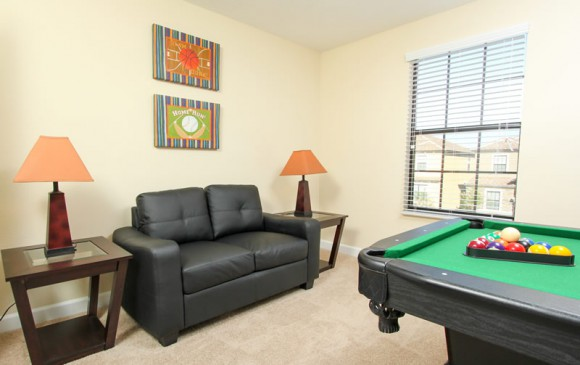 Galleon II - 8 Bedroom Private Pool Rental Vacation Home - Game room