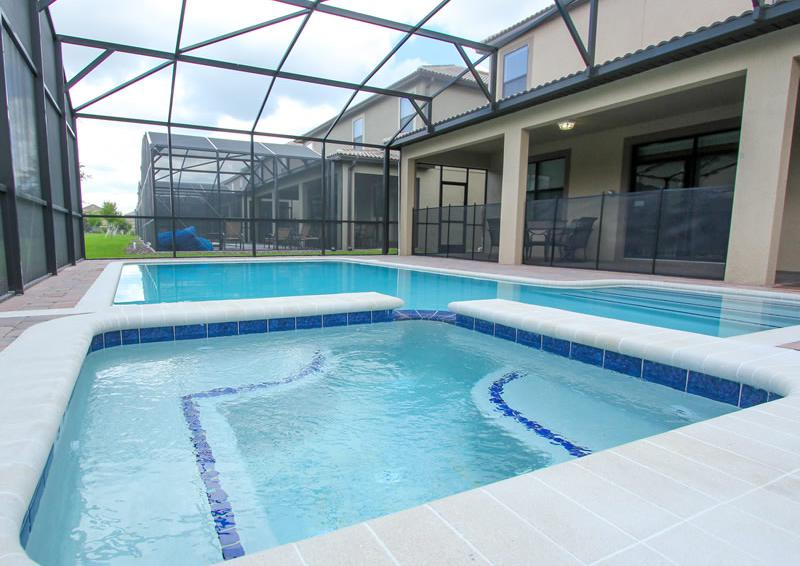 Pool and Spa - Galleon II - 8 Bedroom Private Pool Rental Vacation Home - Homes4uu