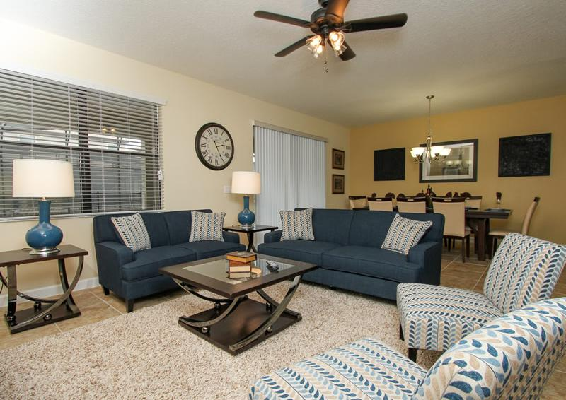 Great Room - Boatswain II - Disney area Vacation Rental Home - Homes4uu