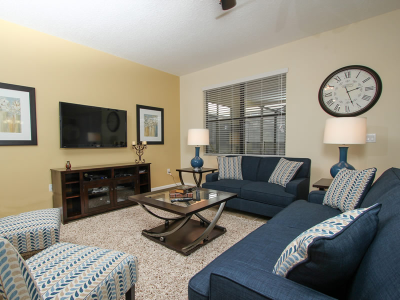 Boatswain II - Disney area Vacation Rental Home - Living Room