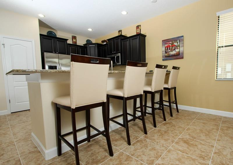 Breakfast Bar - Boatswain II - Disney area Vacation Rental Home - Homes4uu