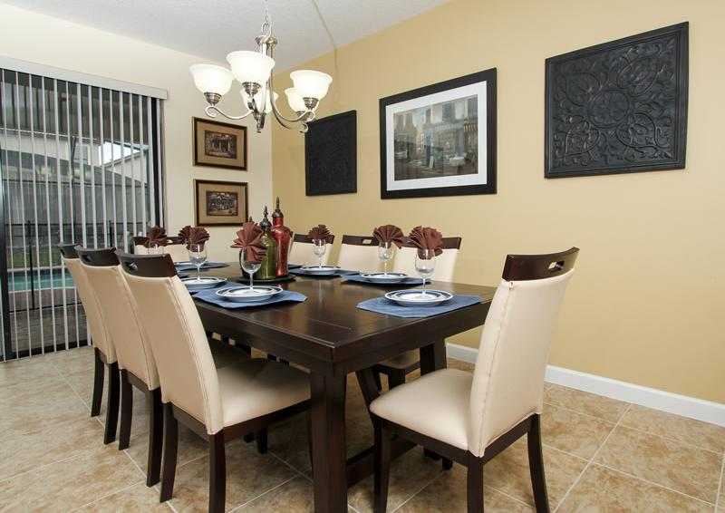 Dining Room - Boatswain II - Disney area Vacation Rental Home - Homes4uu