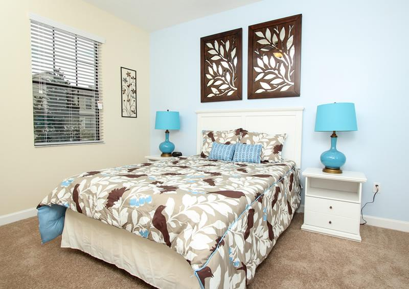 Bedroom 2 - Boatswain II - Disney area Vacation Rental Home - Homes4uu