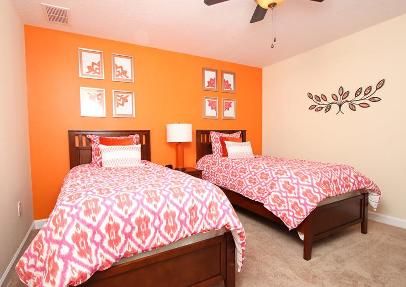 Bedroom 4 - Boatswain II - Disney area Vacation Rental Home - Homes4uu