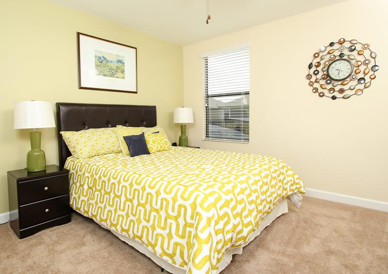 Bedroom 5 - Boatswain II - Disney area Vacation Rental Home - Homes4uu