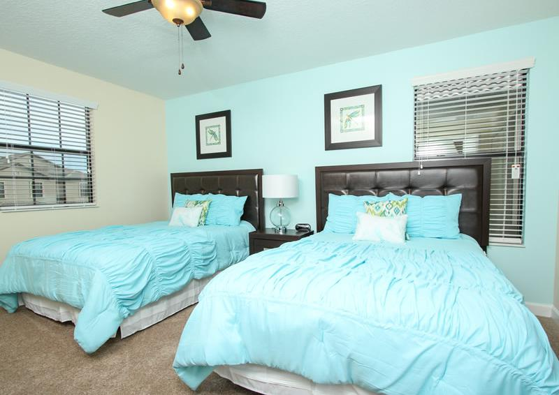 Bedroom 6 - Boatswain II - Disney area Vacation Rental Home - Homes4uu