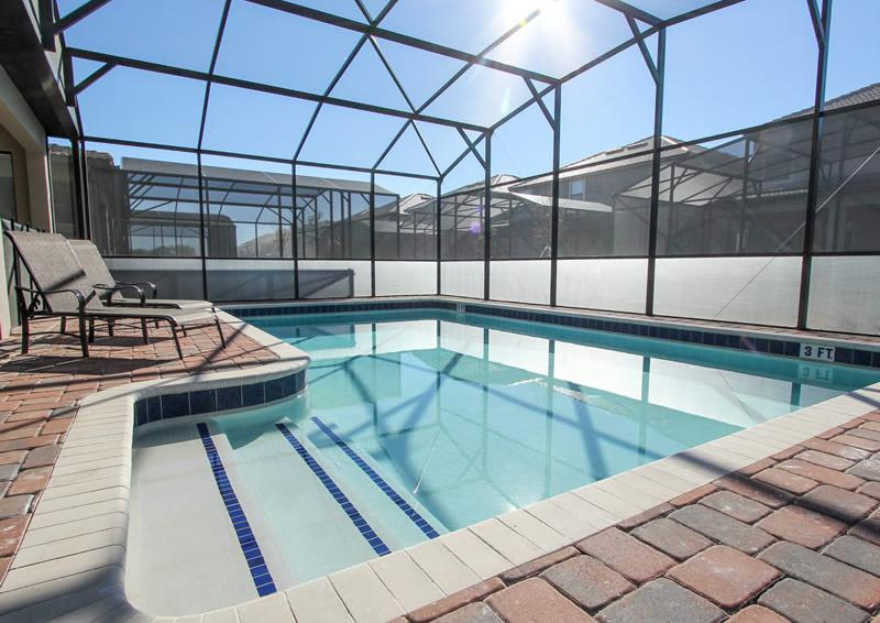 Pool - Boatswain II - Disney area Vacation Rental Home - Homes4uu