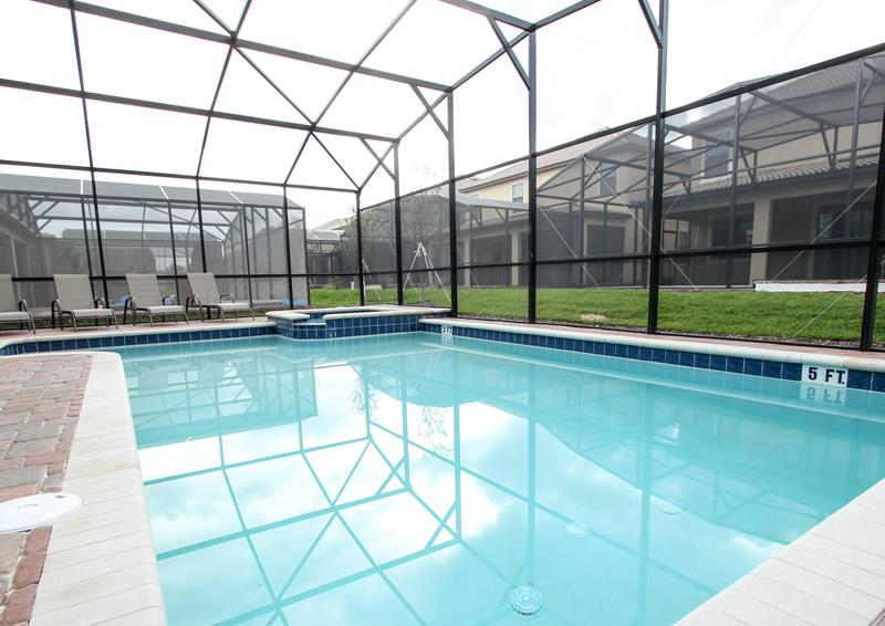 Private Pool Home - Flying Jib II - 9 Bedroom Disney area vacation home - Homes4uu