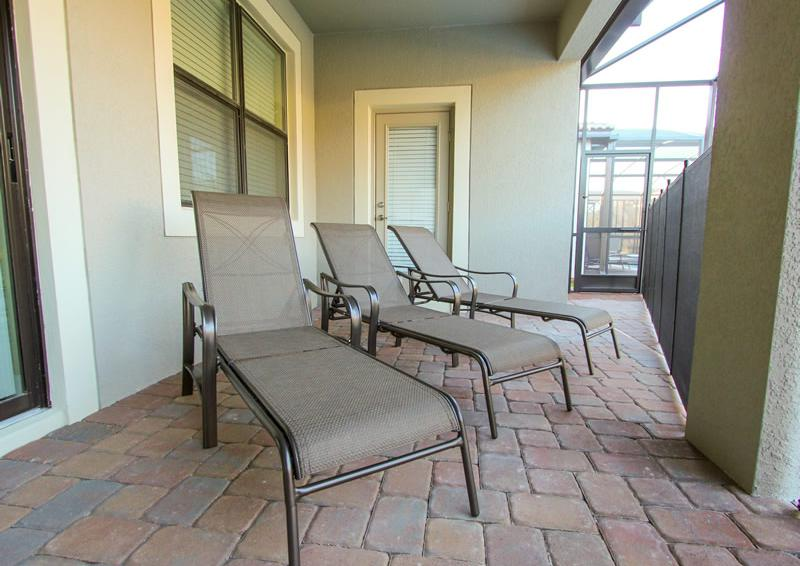 Sun Loungers - Captain's Table - 6 Bedroom Orlando Vacation Home near Disney - Homes4uu