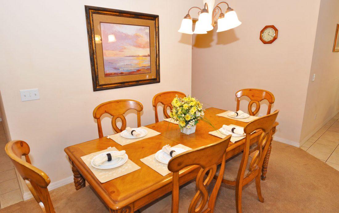 Dining Room - Anchor Ball - 4 Bedroom Private Pool Home - Homes4uu