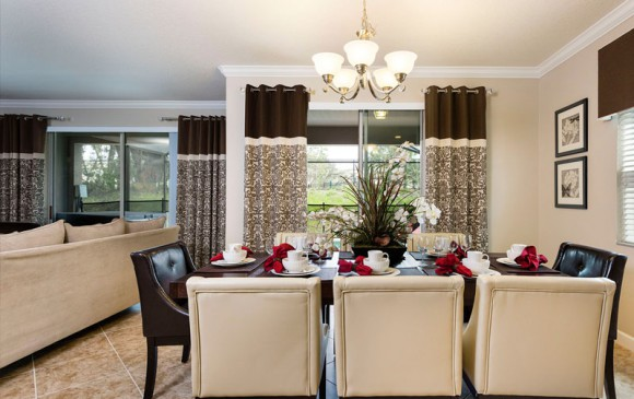 5 Bedroom Paradise Palms Resort Townhome Dining Room