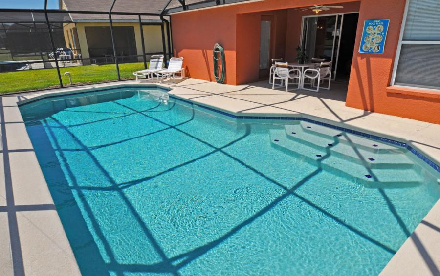 Private Screened In Pool - Anchor Ball - 4 Bedroom Private Pool Home - Homes4uu