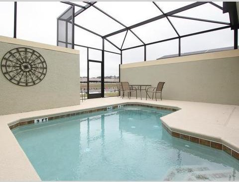 Private Pool - 5 Bedroom Paradise Palms Resort Townhome - Homes4uu