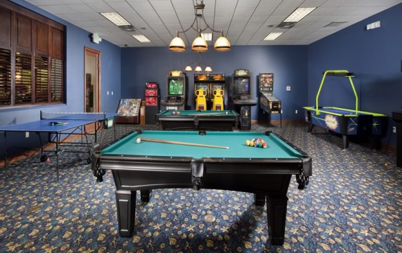 5 Bedroom Paradise Palms Resort Townhome Game room