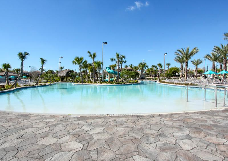 Champions Gate Resort Pool with Lazy River Area View 2