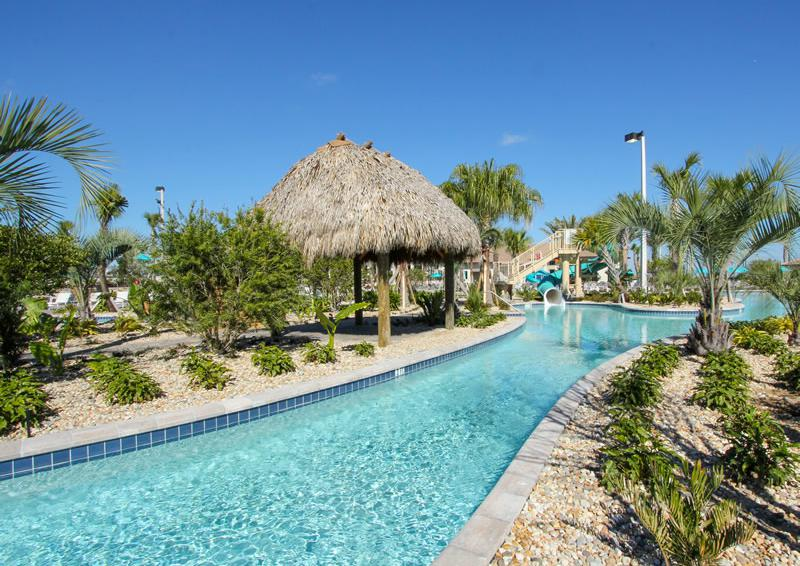 Champions Gate Resort Pool with Lazy River Area View 3