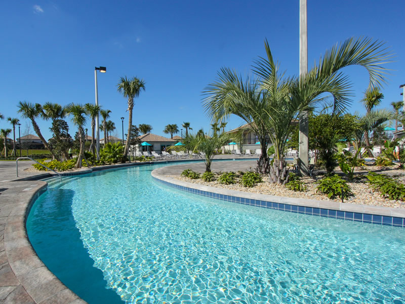 Champions Gate Resort Pool with Lazy River Area View 4