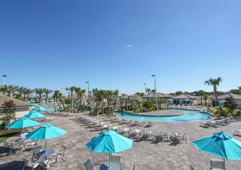 Champions Gate Resort Pool with Lazy River Area