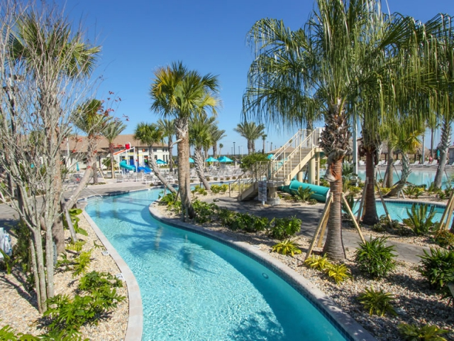 Champions Gate Resort Pool with Lazy River Area View 6