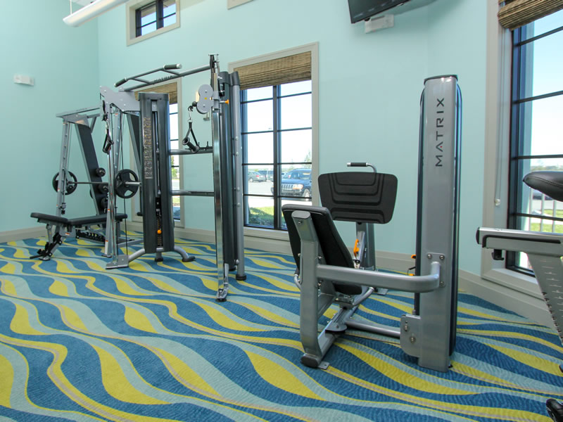Champions Gate Resort Fitness Center View 2