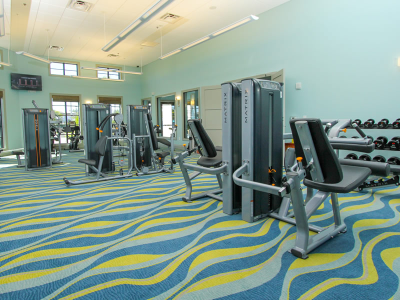 Champions Gate Resort Fitness Center View 3