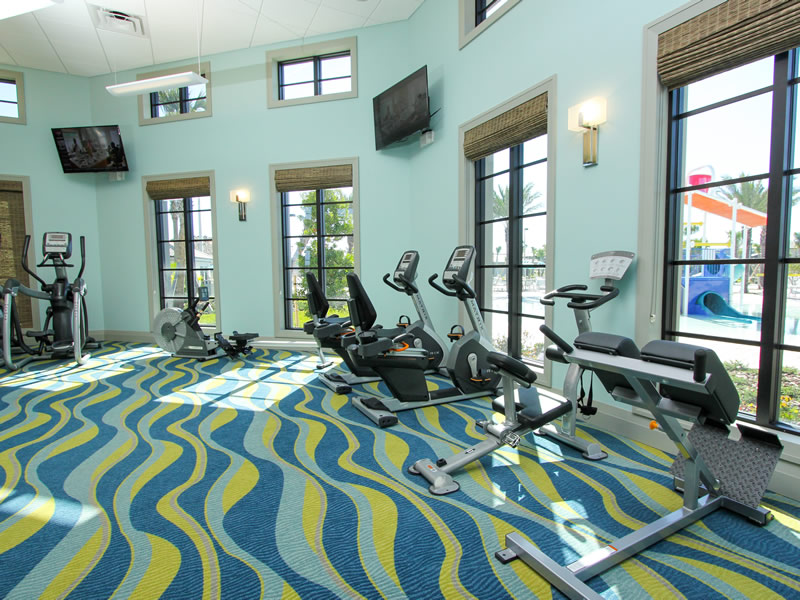 Champions Gate Resort Fitness Center View 5